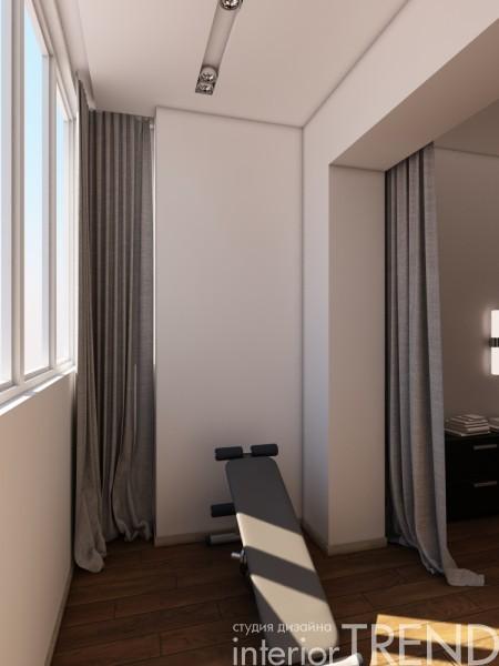 Дизайн проект 3-хкомнатной квартиры.