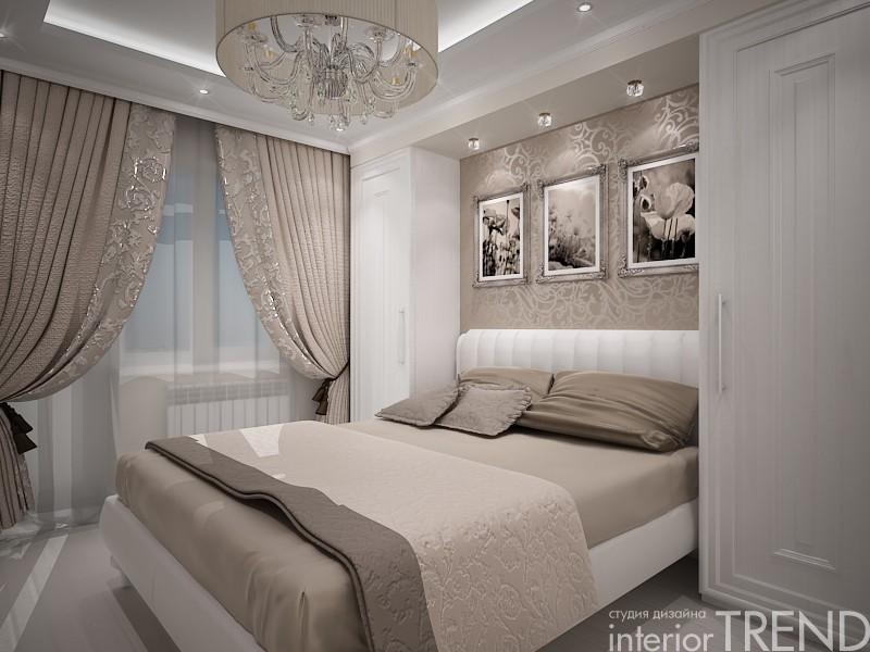 Дизайн спальни 2 на 2